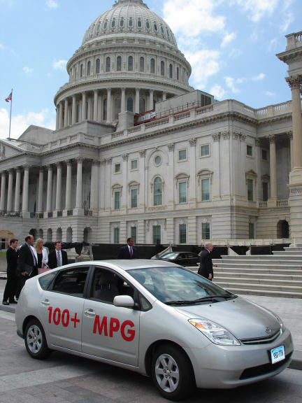 100+ MPG plug-in hybrid at the US Capitol