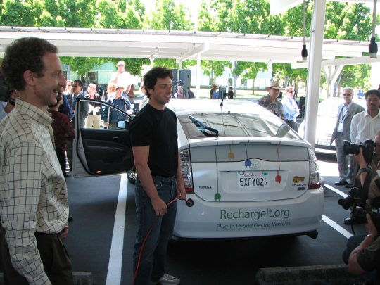 Google's RechargeIT and team