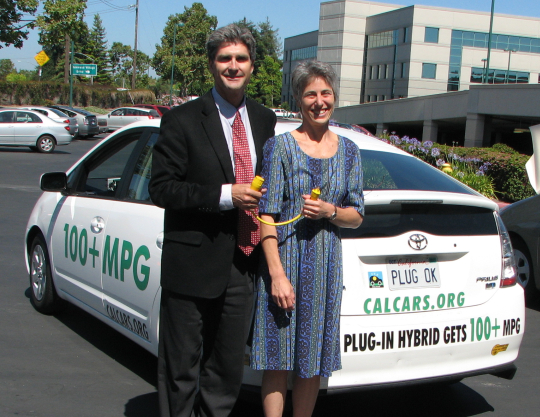 Silicon Valley Leadership Group's Carl Guardino and Laura Stuchinsky, June 2007
