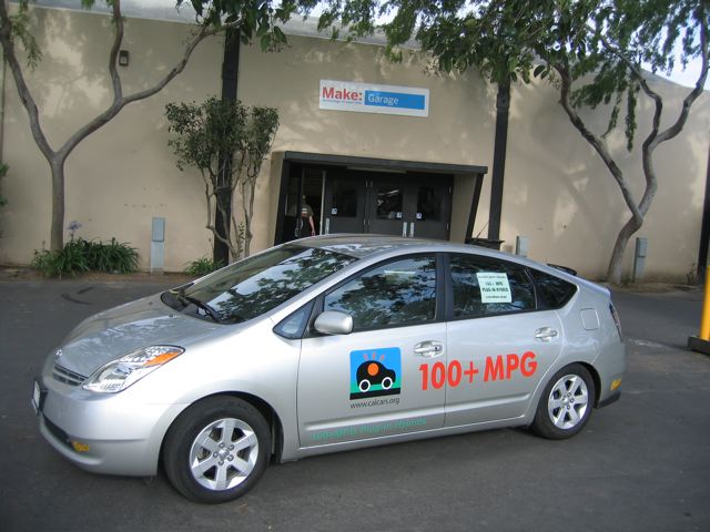 Calcars Prius Ron Gremban Fall 2004 Team Initially With Energycs Technology Not Used In Redesigned Conversion Platform For
